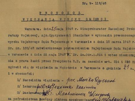 Wyrok na Pileckiego