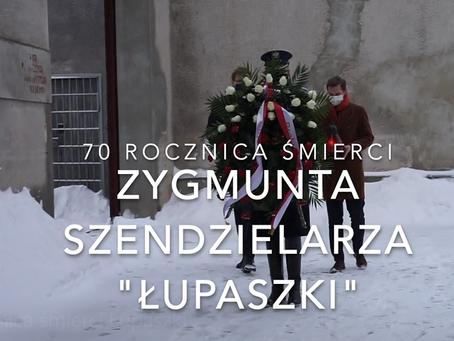 """Hołd mjr """"Łupaszce"""" w 70 rocznicę śmierci."""
