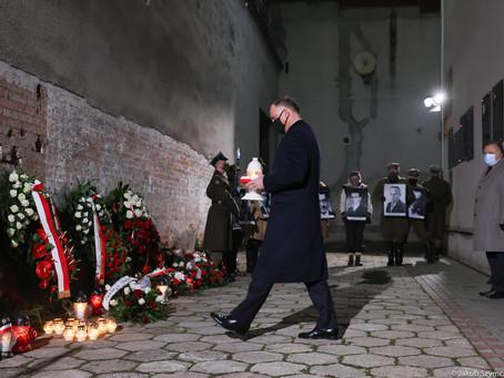 Prezydent RP Andrzej Duda na Rakowieckiej