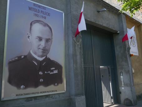 Hołd na Rakowieckiej dla rtm. Witolda Pileckiego