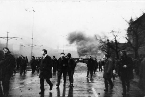 Demonstracje robotników Gdańsk 15.12.1970