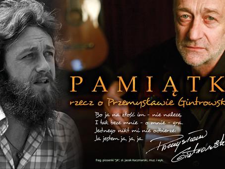 20.10.2012 zmarł Przemysław Gintrowski