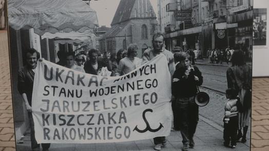 Manifestacja Solidarności Walczącej
