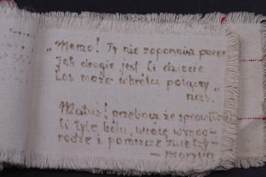 Fragment pamiętnika