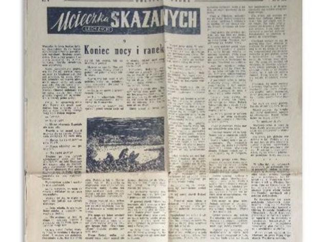 """l. Życki, Ucieczka skazanych, """"Chłopska Droga"""" 1959 r. Fot. Zbiory M. Ostrowskiego"""