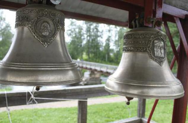 Dzwony z Ołońskiej cerkwi Fot. A. Hlebowicz