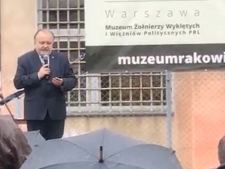 """Przemówienie dyrektora podczas otwarcia wystawy """"Solidarność Walcząca"""""""