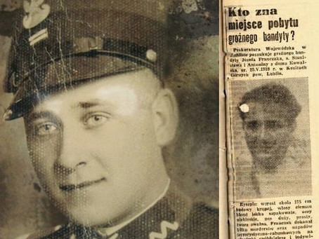 "57 lat temu zginął Józef Frączak ""Laluś"""