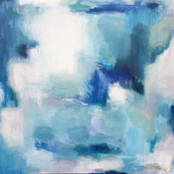 IN THE BLUE 40x40