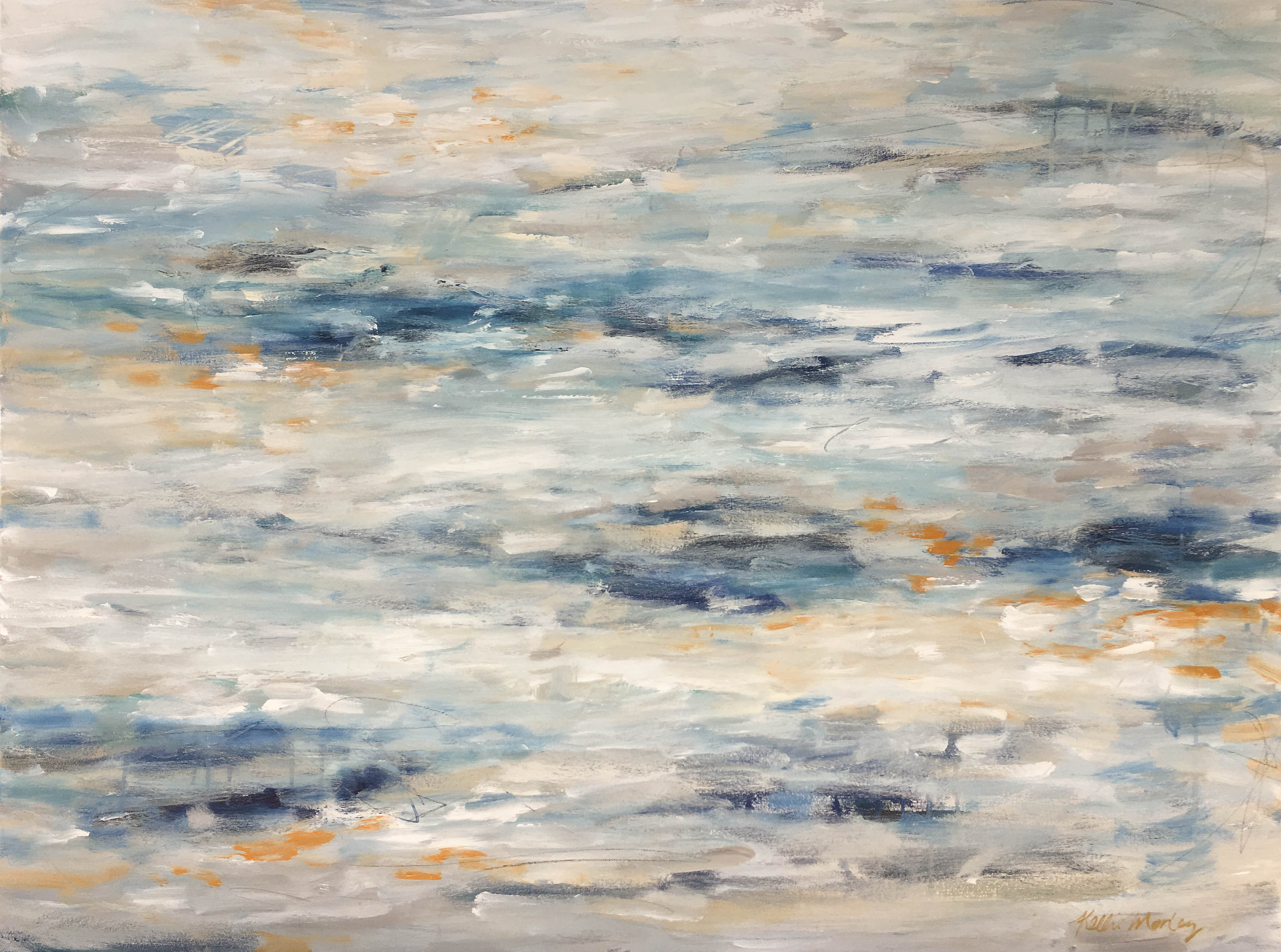 Cloudy Day 36x48