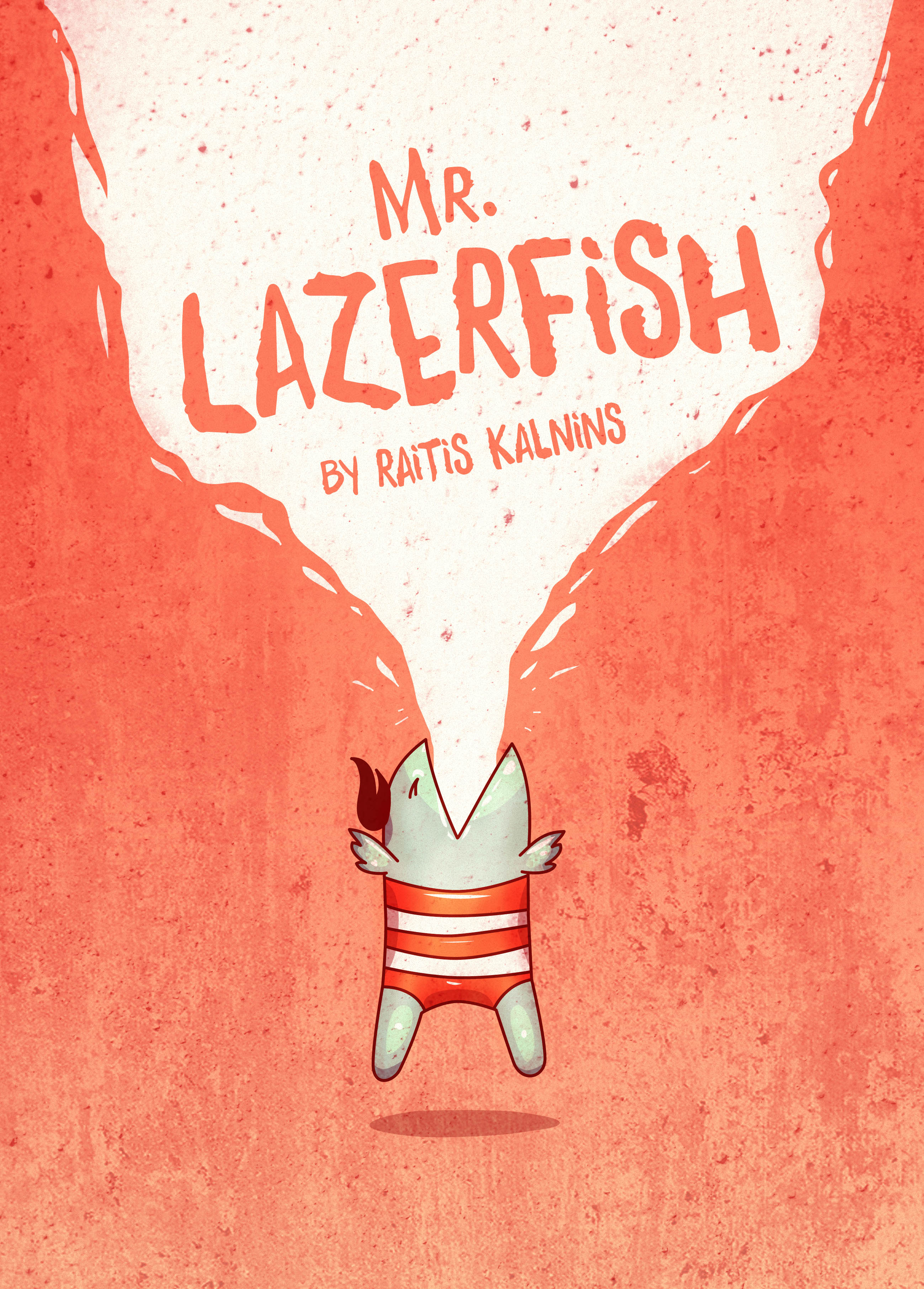 Mr. Lazerfish comic cover