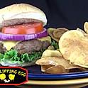 Flipping Egg Burger