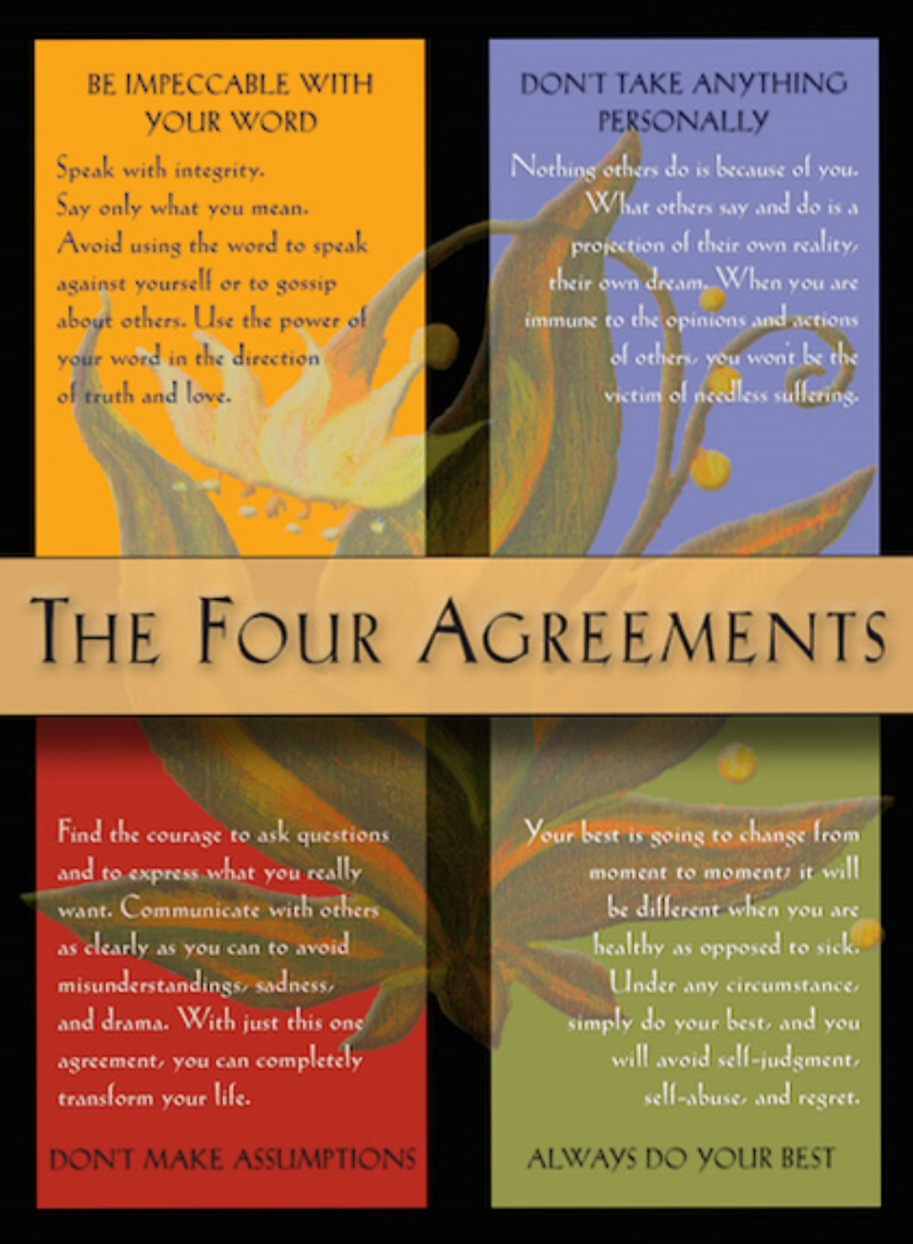 The Four Agreements for Foster Adoptive Parents