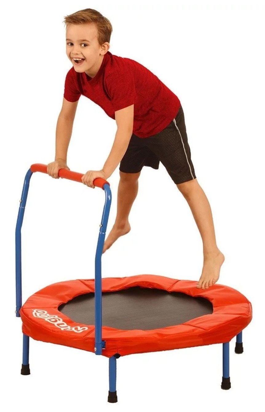 Trampolines can be great gifts for foster and adopted children