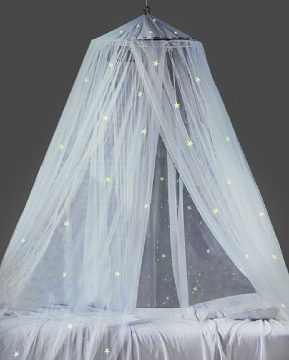 Bed canopy gift idea for foster or adopted child bedroom
