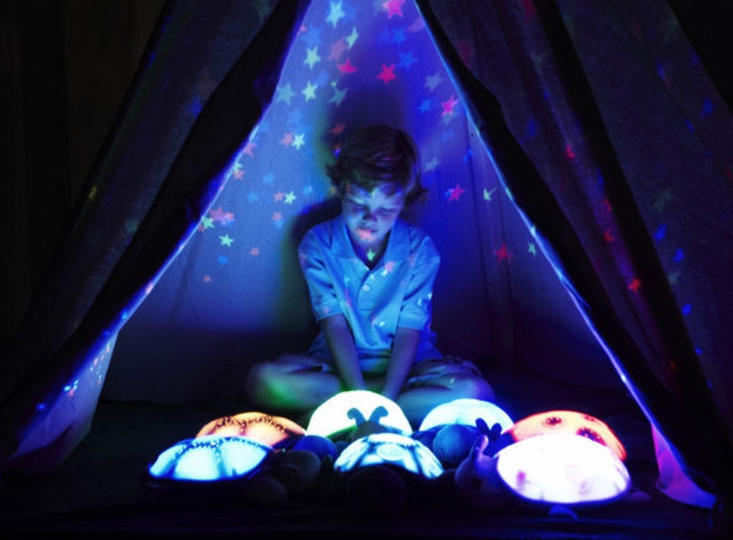 Night lights and soothing sound machines can be a great gift for a foster or adopted child