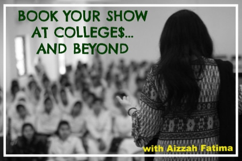 BOOK YOUR SHOW AT COLLEGE$... AND BEYOND!