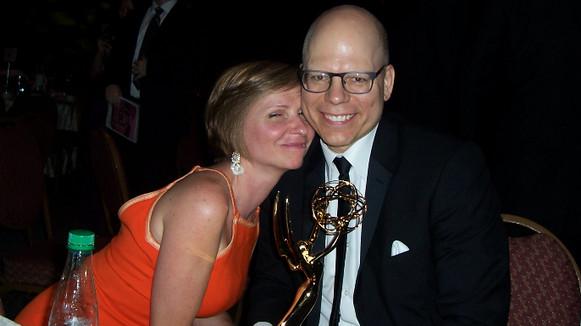 Matt brings home an Emmy!