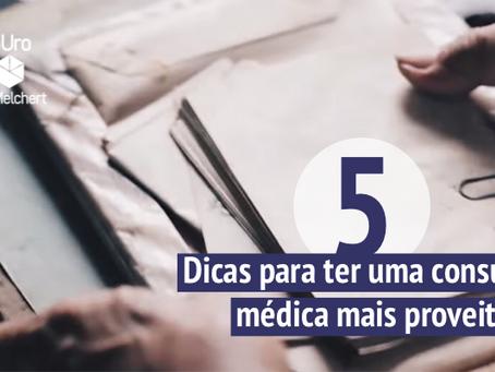 Cinco dicas para ter uma consulta médica mais proveitosa