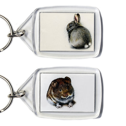 Two Animal Keyrings
