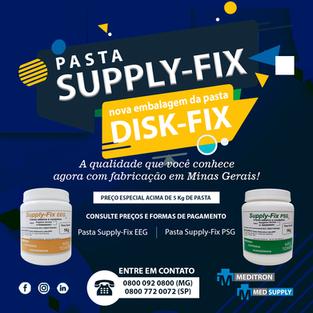 Pasta Supply-Fix nova embalagem da pasta Disk-Fix