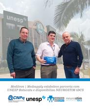 Meditron | Medsupply estabelece parceria com UNESP Botucatu e disponibilza Neurostim tDCS!
