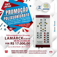 PROMOÇÃO POLISSONÍGRAFO LAMARCK SC810!