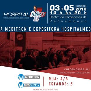Estaremos na HospitalMed 2018!