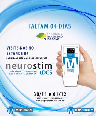 Estaremos presentes no Congresso Brasileiro do Sono 2018!