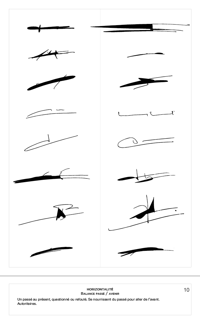 10. Signa horizontalité