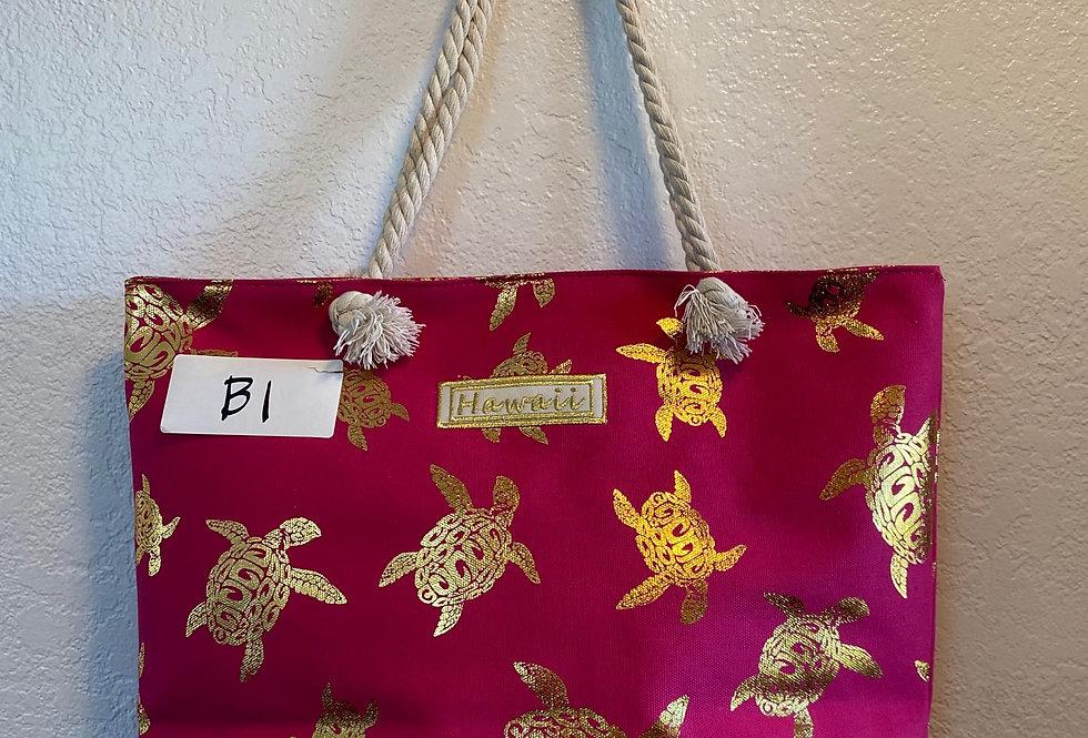 pinkTurtle Honu Bag 20inx16inx16in