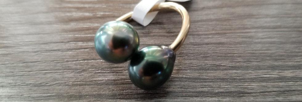 Tahitian Pearl Ring (14k Gold Filled)