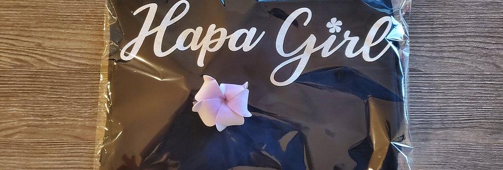 Black 'Hapa Girl' Shirt