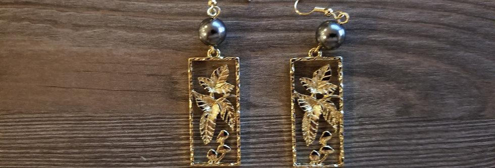 Kukui Nut Earrings