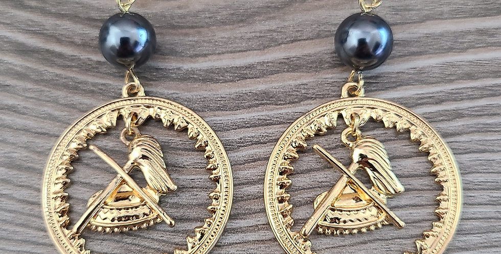 Samoan Seal Earrings