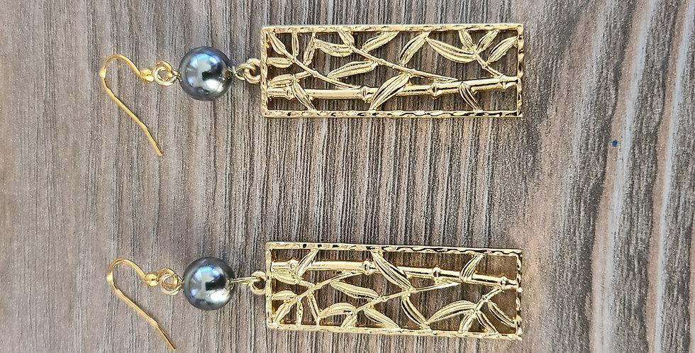 Mini Bamboo Earrings