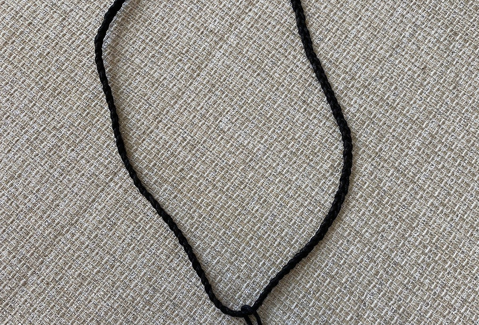 Boars Husk Necklace (Adjustible 26in Max)