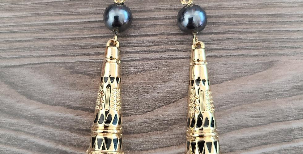 Tribal Tower Earrings