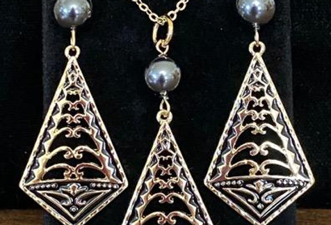 Tribal Unity Earring and Necklace Set
