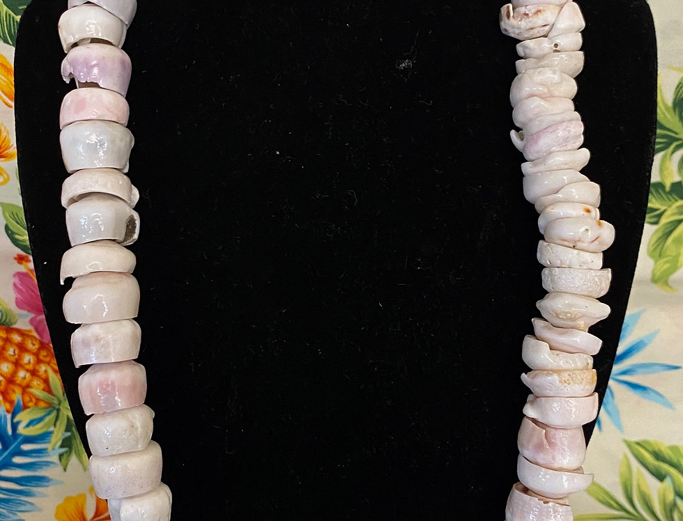 20mm Puka Shell Mix Necklace (24in)