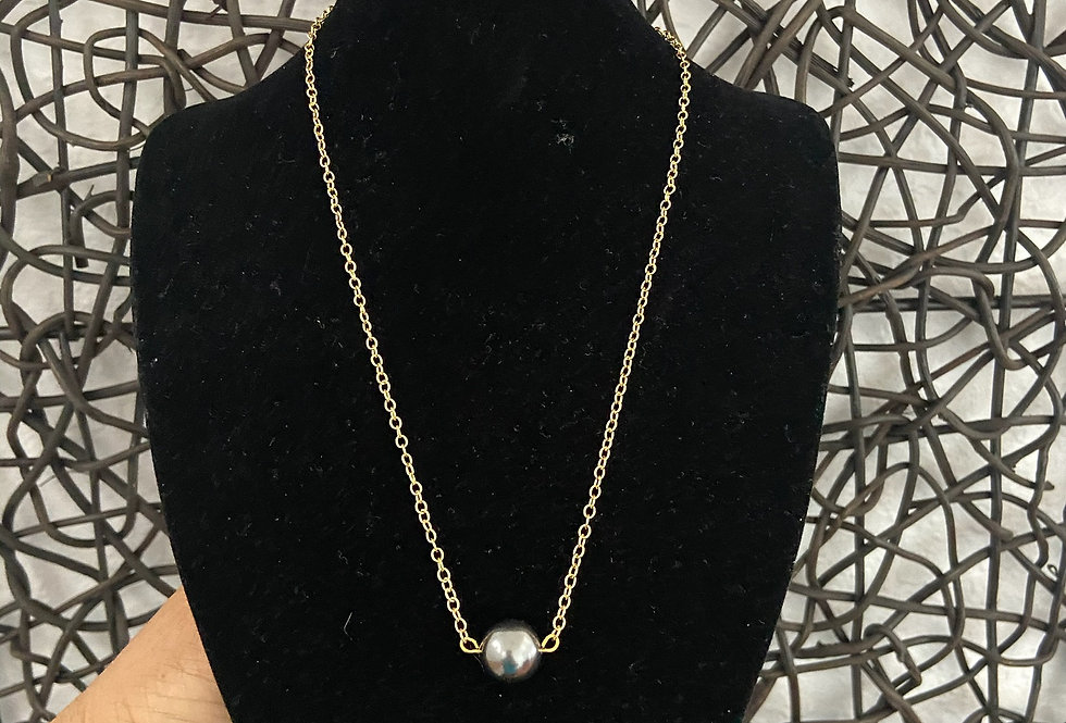 12MM Mother of Pearl Necklace (With or Without Studs)