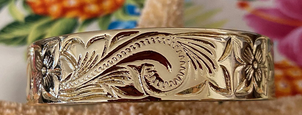 15MM Heirloom Hawaiian Bangle