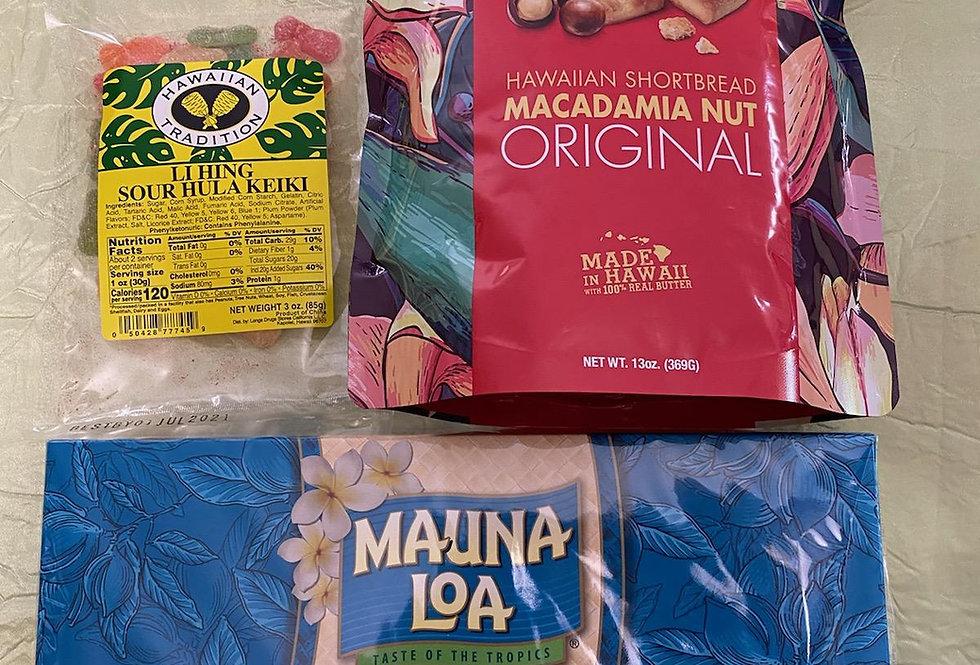 Hapa Girls Hawaii Assorted Mini Snack Pack 'C'