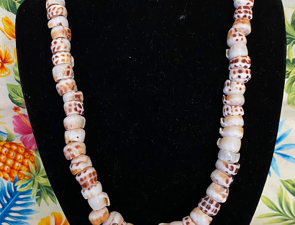 Puka Shell Mix Necklace (20in)
