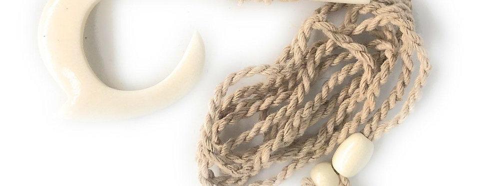 Hawaiian Hook Necklace (Adjustible 26in Max)