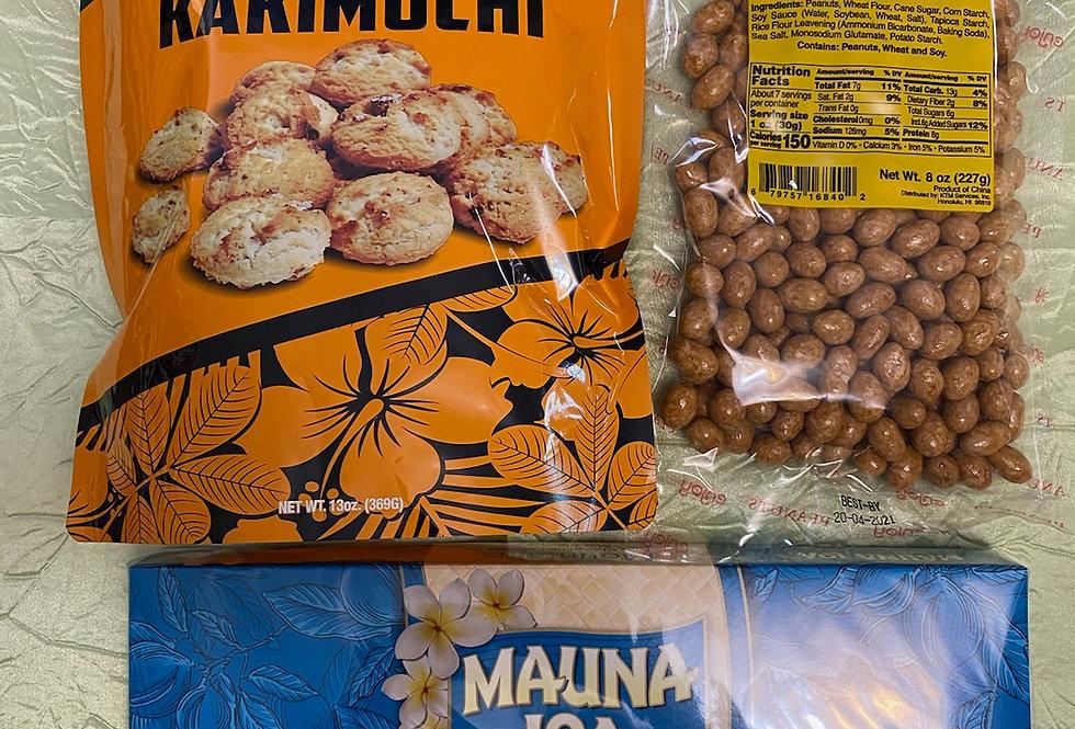 Hapa Girls Hawaii Assorted Mini Snack Pack 'A'