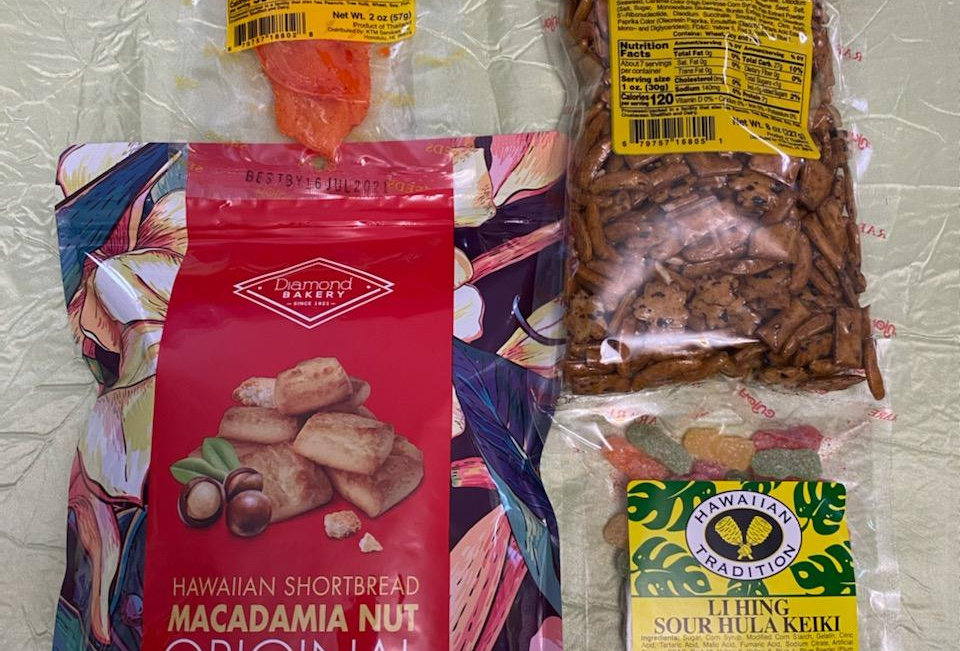 Hapa Girls Hawaii Assorted Mini Snack Pack 'D'