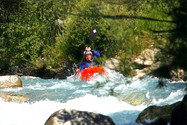 kayak sur la Guisane