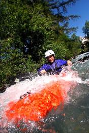 Rapides en kayak