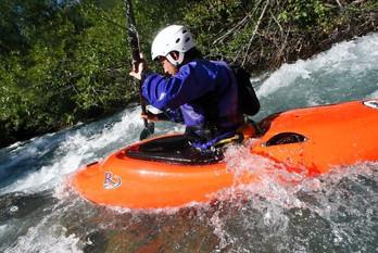 kayak en rivières